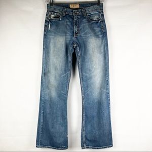 BKE Men's | Tyler 100% Cotton Blue Jeans